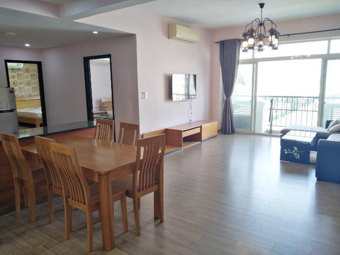Phòng khách Cảnh Viên 2, Quận 7 Căn hộ Cảnh Viên 2 hướng Đông Bắc, đầy đủ nội thất tiện nghi.