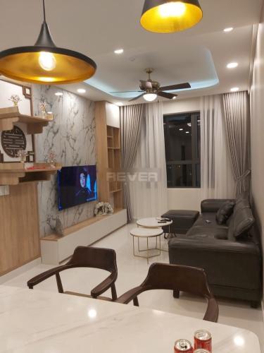 Phòng khách căn hộ Green River, Quận 8 Căn hộ Green River view nội khu hồi cực mát mẻ, đầy đủ nội thất.