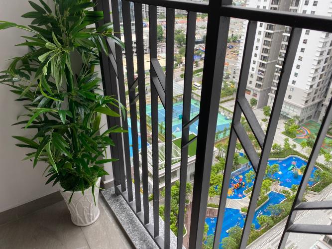 View Căn hộ Saigon South Residence đầy đủ nội thất, view nội khu.