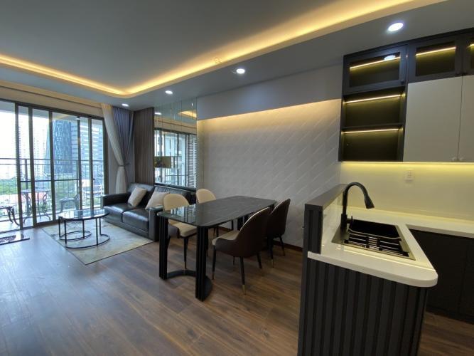 Phòng khách Saigon South Residence Căn hộ Saigon South Residence ban công hướng Đông Nam, thoáng mát.