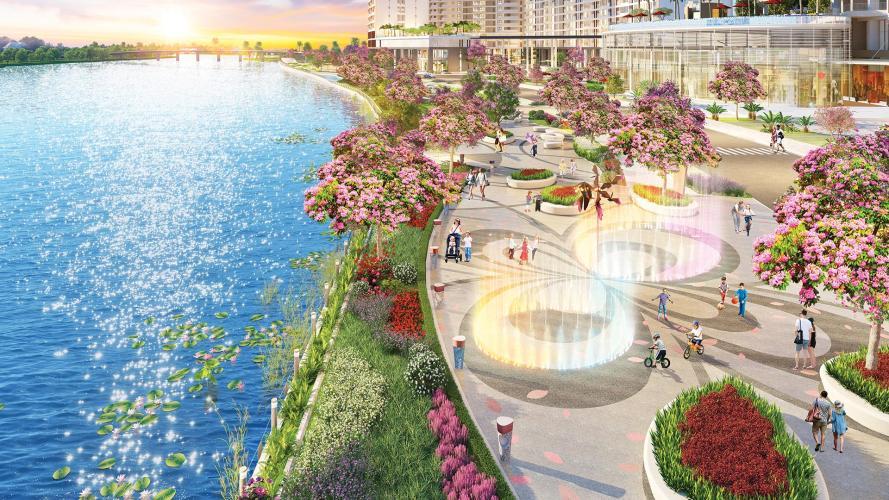Tiện ích Phú Mỹ Hưng Midtown Căn hộ Phú Mỹ Hưng Midtown nội thất đầy đủ, view thành phố.