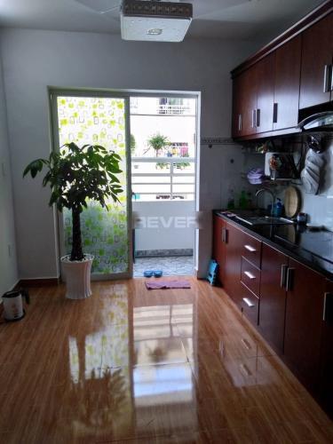 Căn hộ Tecco Green Nest tầng trung, nội thất đầy đủ.