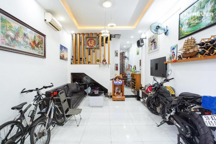 Bán nhà hẻm Võ Thị Nhờ, Quận 7, sổ hồng, đầy đủ nội thất, cách mặt tiền đường Huỳnh Tấn Phát 300m
