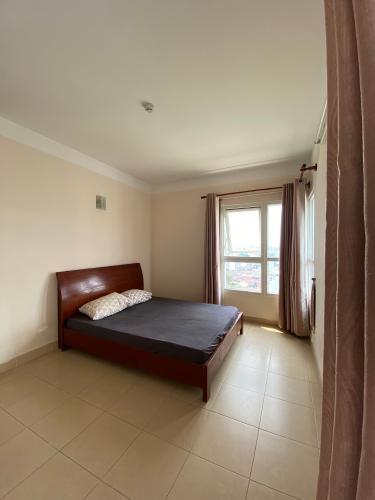 Phòng ngủ căn hộ Phú Gia Hưng Apartment, Gò Vấp Căn hộ Phú Gia Hưng Apartment hướng Đông Nam, nội thất cơ bản.