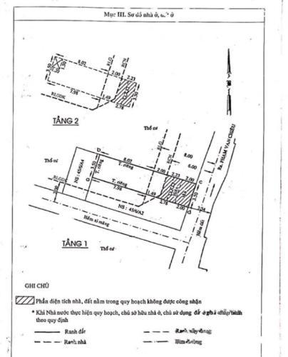 Nhà phố Quận Gò Vấp Nhà phố diện tích 45m2 nội thất cơ bản, khu dân cư đông đúc.