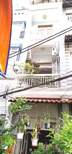 Bán nhà phố đường hẻm số 41 phường 6 quận 4, diện tích đất 24.8m2, sổ hồng đầy đủ