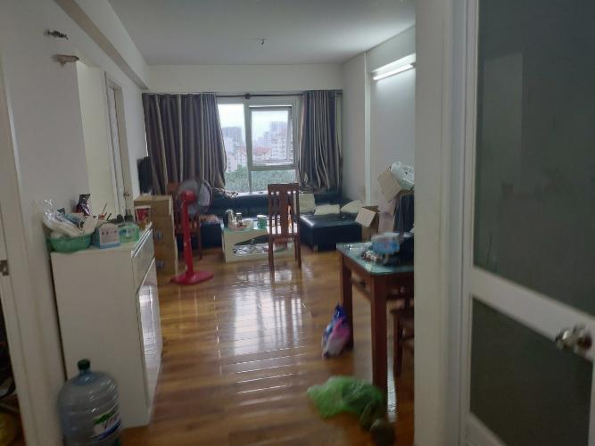 Căn hộ E-home 5 The Bridgeview hướng cửa Tây Nam, view nội khu.