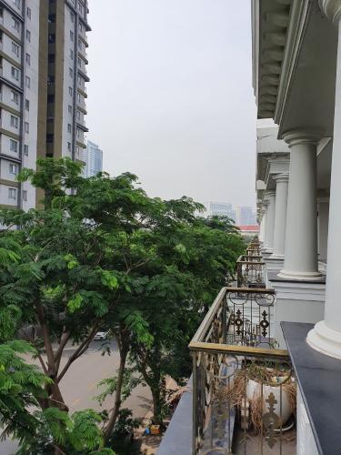 View biệt thự Quận 7 Biệt thự kết cấu 1 trệt 1 lửng 3 lầu hướng Đông Bắc, thuận tiện làm văn phòng.