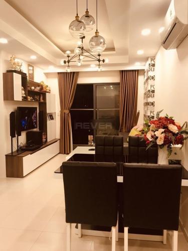 Căn hộ M-one Nam Sài Gòn tầng 12 thoáng mát, nội thất cơ bản.