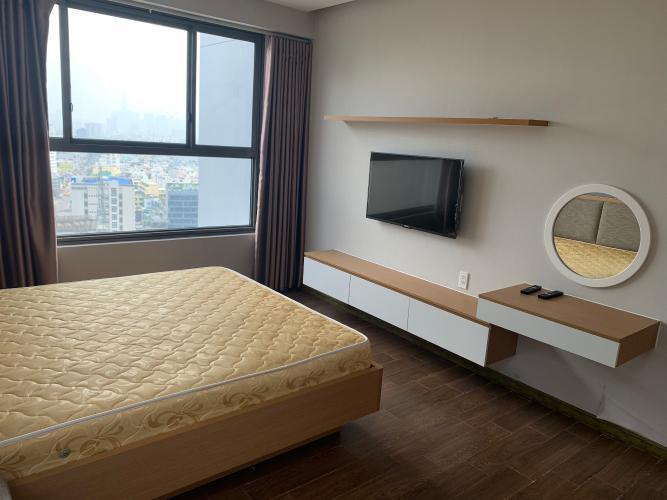 Phòng ngủ căn hộ Kingston Residence Căn hộ tầng cao Kingston Residence đủ tiện nghi view nhìn ra thành phố.
