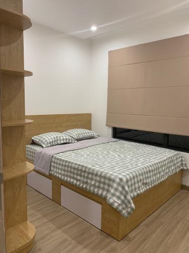 Phòng ngủ Vinhomes Grand Park Quận 9 Căn hộ Vinhomes Grand Park nội thất tiện nghi, hướng Đông Nam.