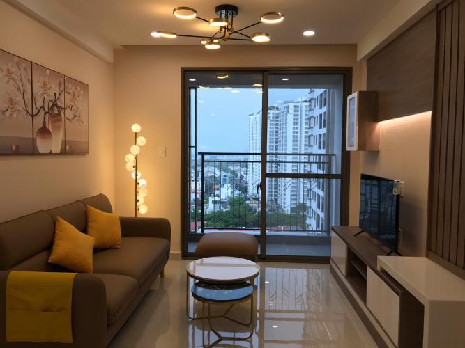 Căn hộ thô tầng cao Saigon South Residence, view nội khu.