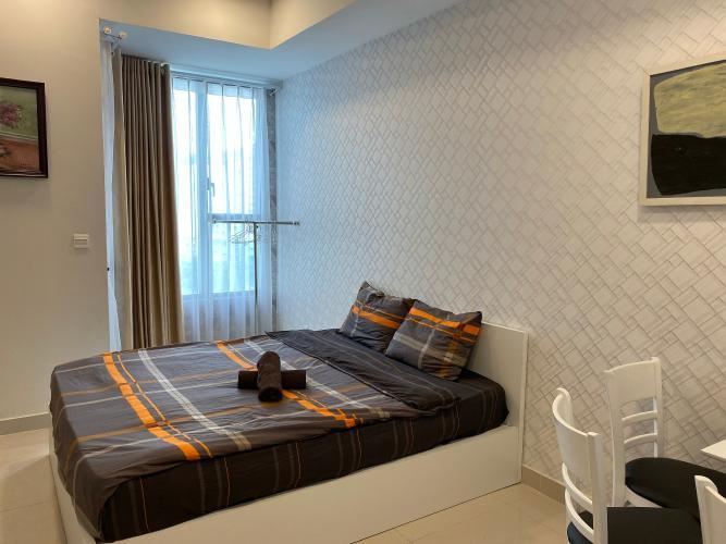 Phòng ngủ officetel chung cư River Gate, Quận 4 Office-tel tầng cao chung cư River Gate ban công hướng Tây Bắc.