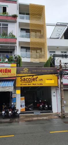 Nhà phố mặt tiền đường Bùi Minh Túy gồm 1 trệt 4 lầu, nội thất cơ bản.