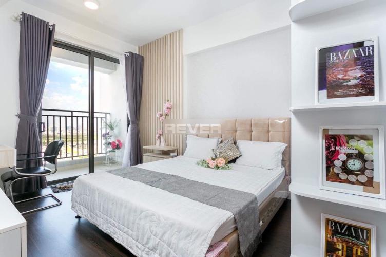 Phòng ngủ RiverGate Residence, Quận 4 Căn hộ River Gate ban công hướng Tây, nội thất cơ bản.