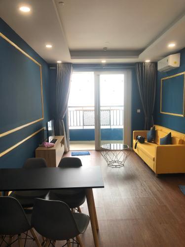 Căn hộ Saigon Mia tầng 24 view thoáng mát, nội thất đầy đủ.