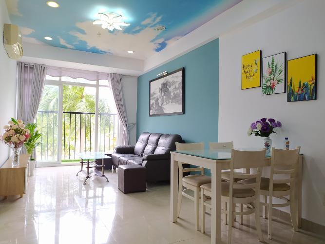 Căn hộ tầng thấp Conic Skyway thiết kế hiện đại, đầy đủ nội thất.