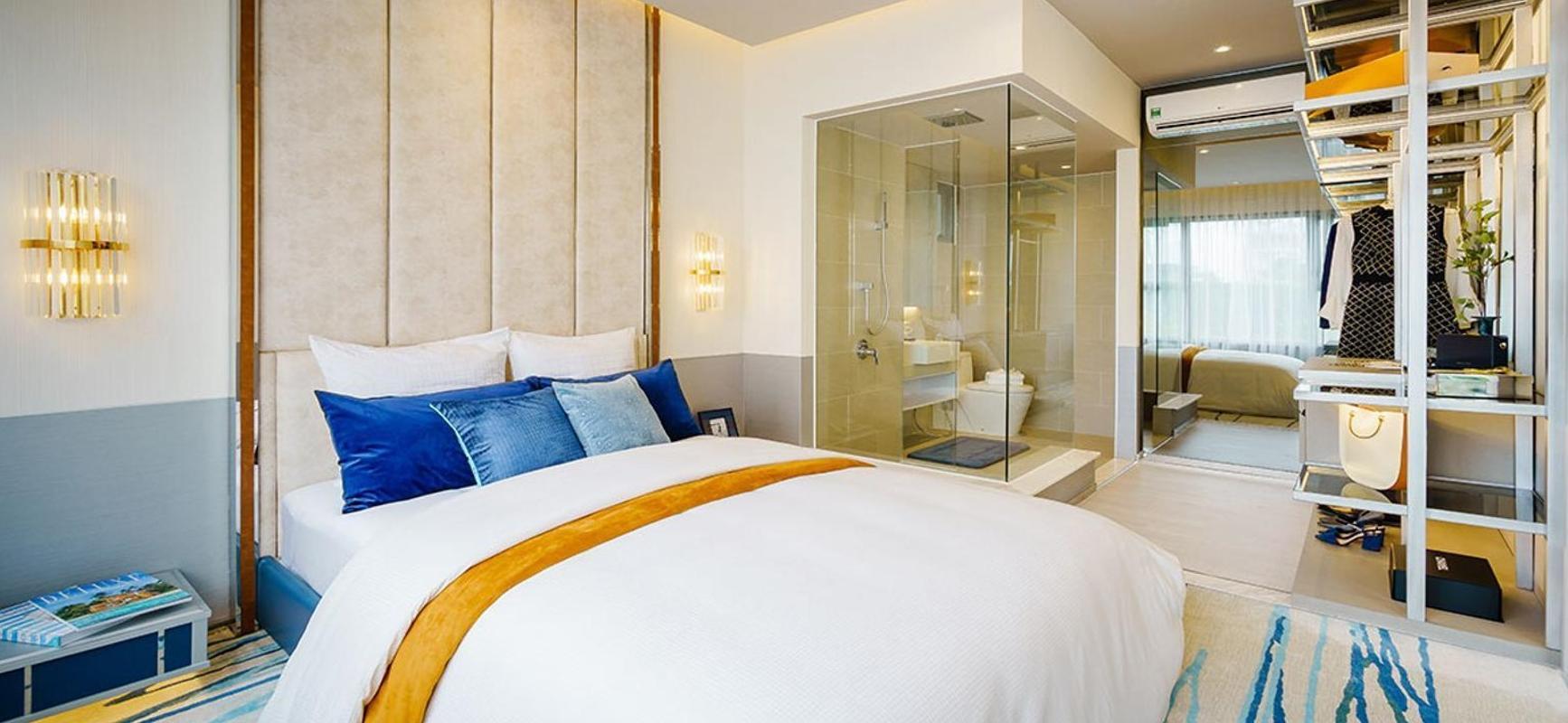 phòng ngủ căn hộ Sky89 Căn hộ tầng 03 Sky 89 ban công hướng Đông thoáng đãng