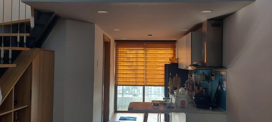 Căn hộ La Astoria thiết kế hiện đại có 1 gác lửng, nội thất cơ bản.