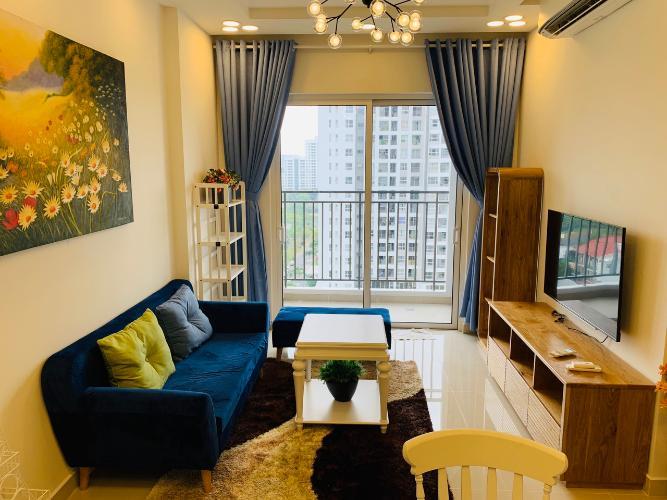 Căn hộ Sunrise Riverside tầng trung, đầy đủ nội thất.