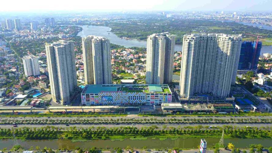 Căn hộ Masteri Thảo Điền , Quận 2 Căn hộ tầng cao Masteri Thảo Điền view thành phố, nội thất cơ bản.