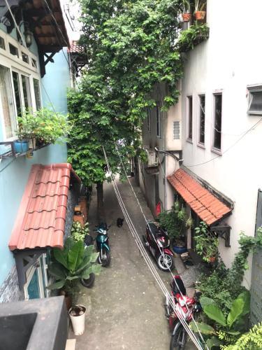 Hẻm nhà phố Lê Đức Thọ, Gò Vấp Nhà phố 1 trệt 1 lầu hướng Đông Bắc, hẻm nội bộ thoáng mát.