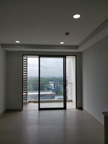 Phòng khách River Panorama, Quận 7 Căn hộ tầng trung River Panorama view thành phố, chưa bàn giao.