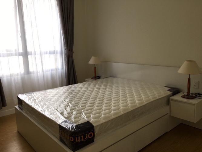 phòng ngủ căn hộ 1 phòng ngủ masteri thảo điền Căn hộ Masteri Thảo Điền tầng cao đón view nội khu mát mẻ.