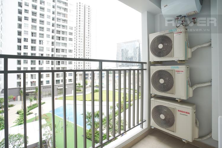 Ban Công Cho thuê căn hộ Sunrise Riverside 2PN, tầng thấp, đầy đủ nội thất, view hồ bơi