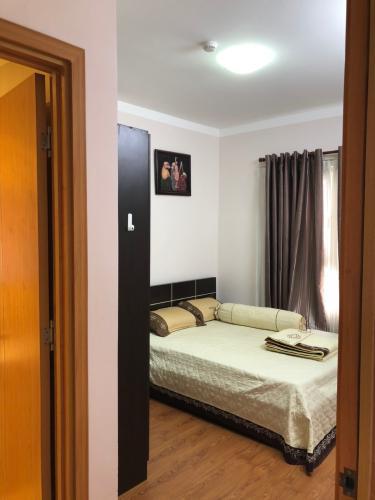Phòng ngủ , Căn hộ Saigonres Plaza , Quận Bình Thạnh Căn hộ SaigonRes Plaza cửa hướng Tây Bắc, đầy đủ nội thất.