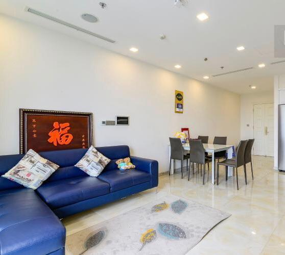 Phòng khách căn hộ Vinhomes Golden River Căn hộ Vinhomes Golden River, đầy đủ nội thất, ban công thoáng mát