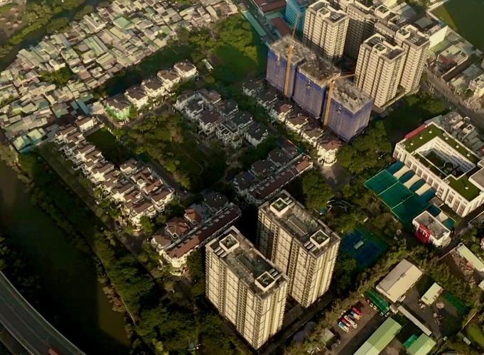 Căn hộ Cityland Riverside , Quận 7 Nhà phố mặt tiền tại KDC Cityland Riverside, diện tích sử dụng 1000m2.
