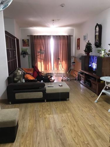 Căn hộ Conic Đông Nam Á view tầng 6 đón gió thoáng mát, đầy đủ nội thất.