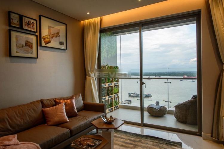 Căn hộ tầng 19 An Gia Riverside hướng Đông thoáng mát, nội thất cơ bản.