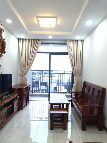 Căn hộ Him Lam Phú An tầng 5 thiết kế hiện đại, đầy đủ nội thất.