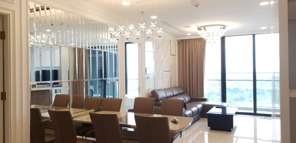 phòng khách Vinhomes Golden River Căn hộ Vinhomes Golden River tầng trung, nội thất đầy đủ