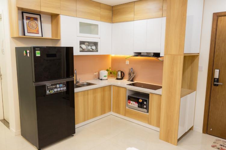 Phòng bếp Masteri Millennium Quận 4 Căn hộ Masteri Millennium đầy đủ nội thất, hướng Đông Nam.