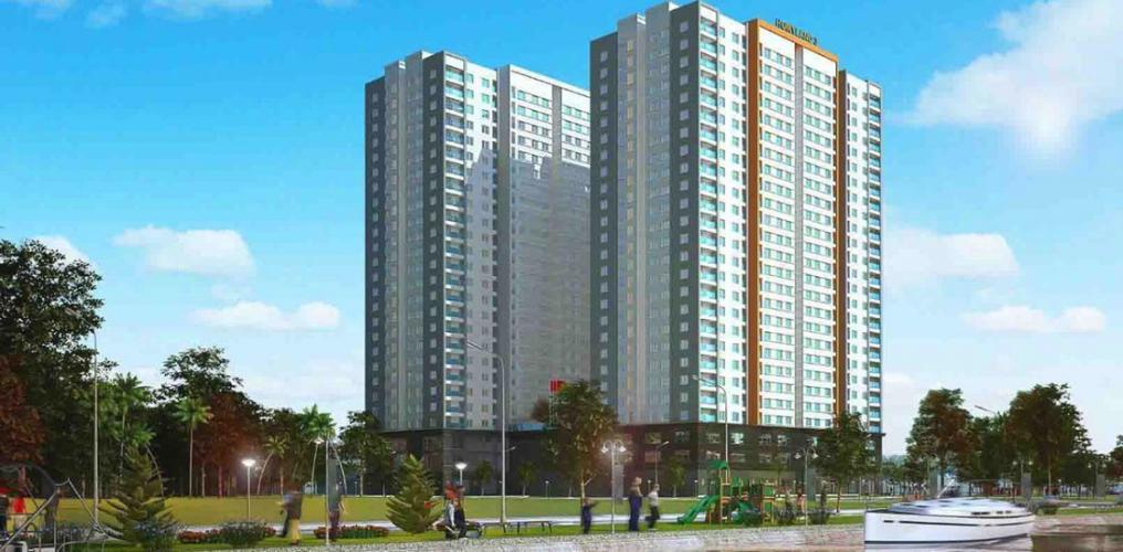 Saigon Intela, Bình Chánh Căn hộ tầng trung Saigon Intela nội thất cơ bản.