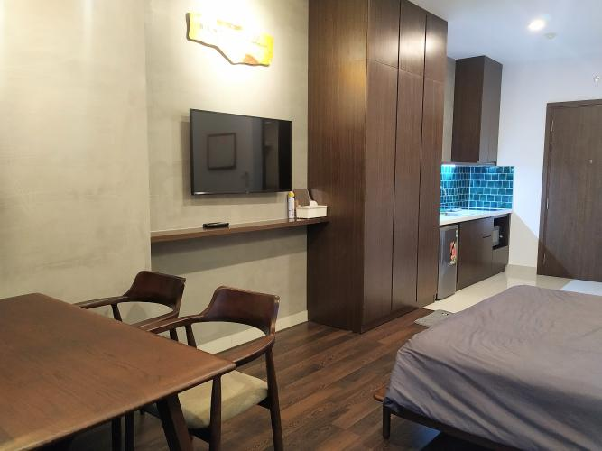 Phòng ngủ Saigon Royal, Quận 4 Căn hộ Saigon Royal đầy đủ nội thất, hướng Đông Nam.