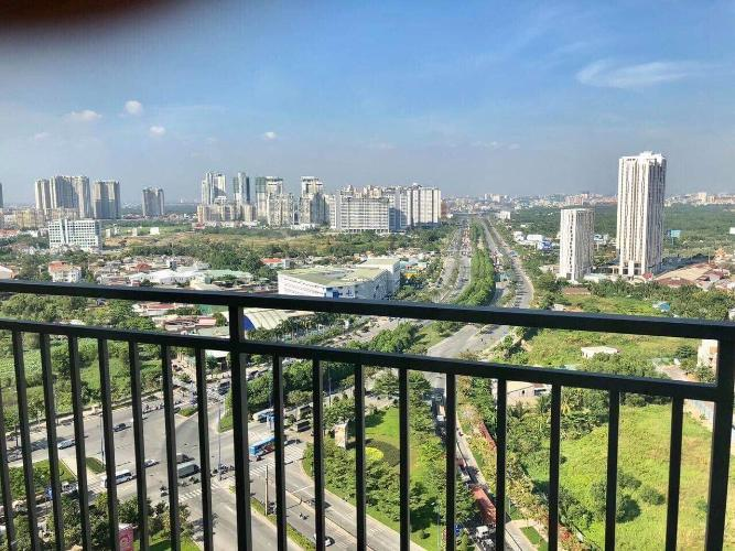 View căn Office-tel The Sun Avenue, Quận 2 Căn hộ The Sun Avenue tầng 20 view thành phố thoáng đãng.