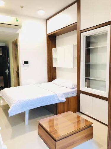Phòng ngủ Rivergate Residence Căn hộ Rivergate Residence tầng 10, đầy đủ nội thất.
