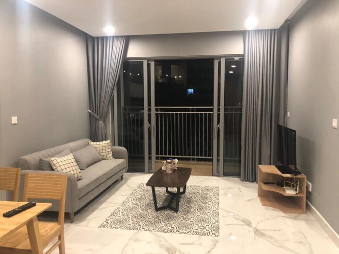 Căn hộ tầng cao Palm Height có 3 phòng ngủ, nội thất đầy đủ.
