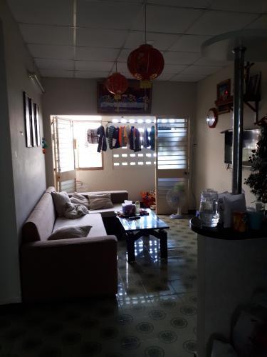 Căn hộ Chung cư TDH - Phước Bình tầng 4, ban công hướng Đông Nam.