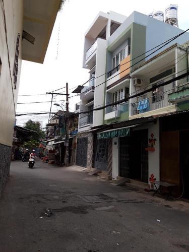 Đường nhà phố Huỳnh Thiện Lộc, Tân Phú Nhà phố hướng Đông Nam, không kèm nội thất, sổ hồng riêng.