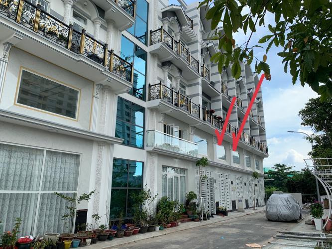 Nhà phố khu Lux Home Gardens diện tích sử dụng 220m2, hướng Tây.
