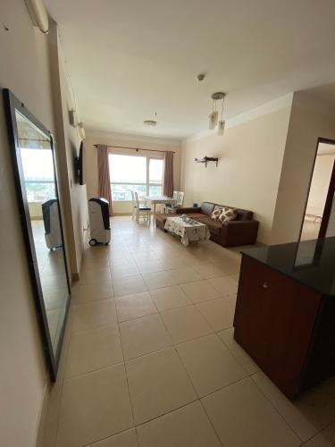 Phòng khách căn hộ Phú Gia Hưng Apartment, Gò Vấp Căn hộ Phú Gia Hưng Apartment hướng Đông Nam, nội thất cơ bản.