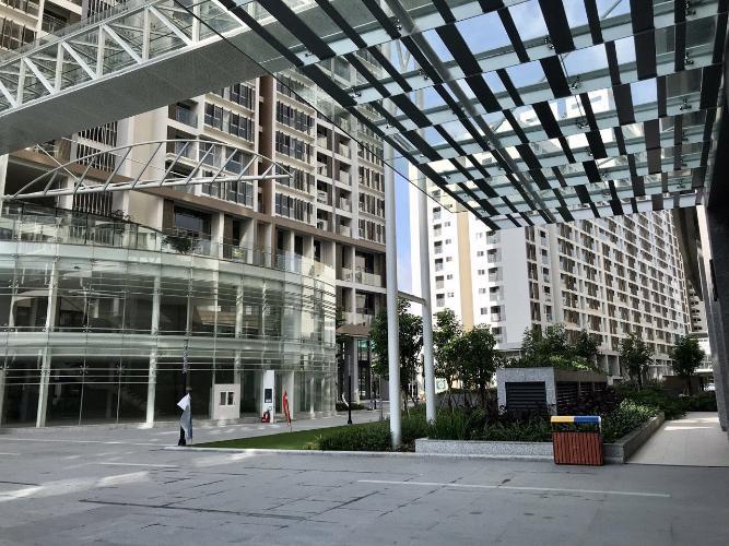 view nhìn ra phía ngoài căn hộ midtown Căn hộ Phú Mỹ Hưng Midtown nội thất cơ bản