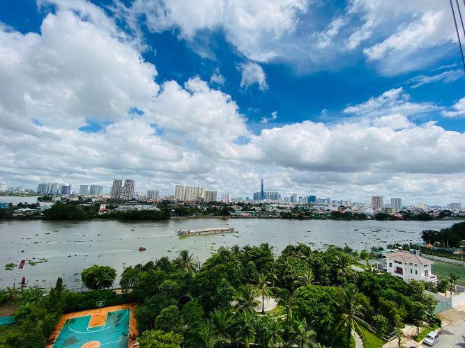 View căn hộ Opal Riverside , Quận Thủ Đức Căn hộ Opal Riverside tầng 19 view sông thoáng mát, nội thất đầy đủ.