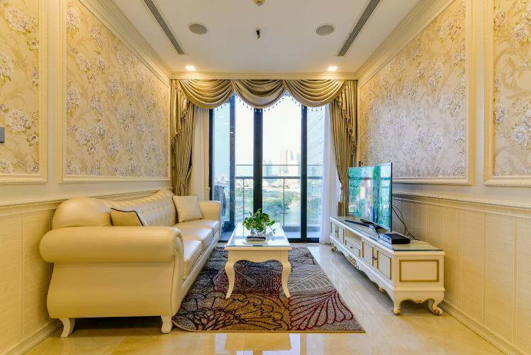 Căn hộ Vinhomes Golden River, đầy đủ nội thất sang trọng, view trực diện sông thoáng mát