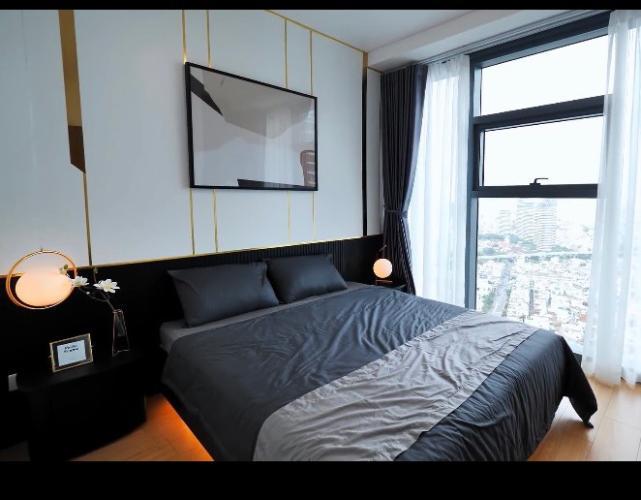 Căn hộ tầng cao Sunwah Pearl thiết kế hiện đại, đầy đủ nội thất.